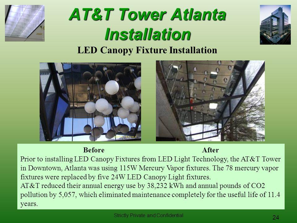AT&T Tower Atlanta Installation