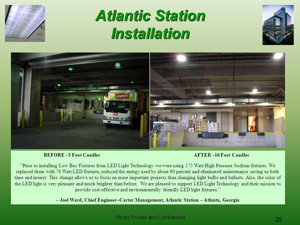 Atlantic Station Installation