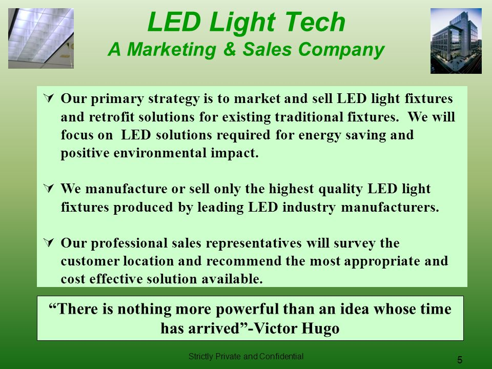 LED Light Tech A Marketing & Sales Company