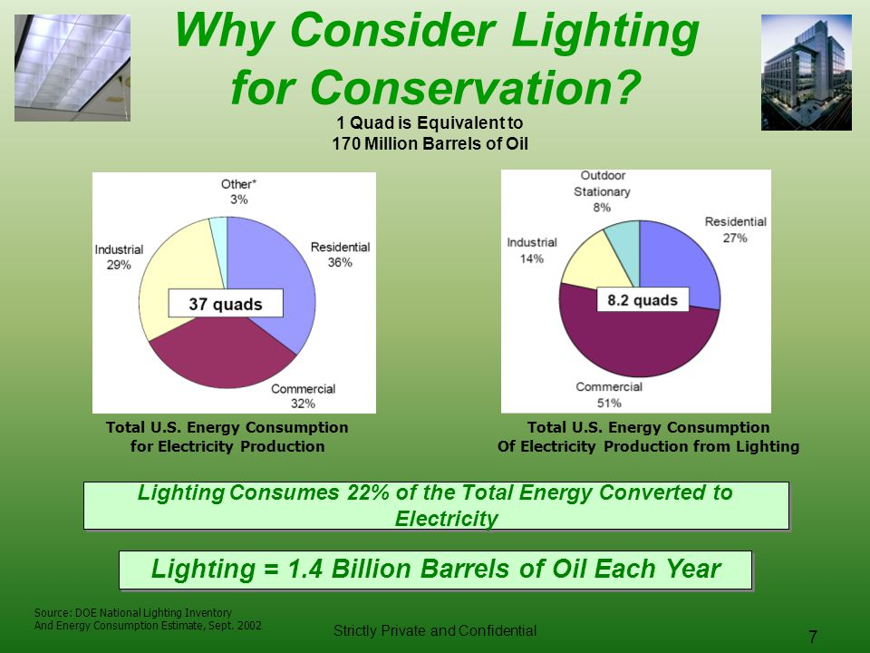 Why Consider Lighting for Conservation