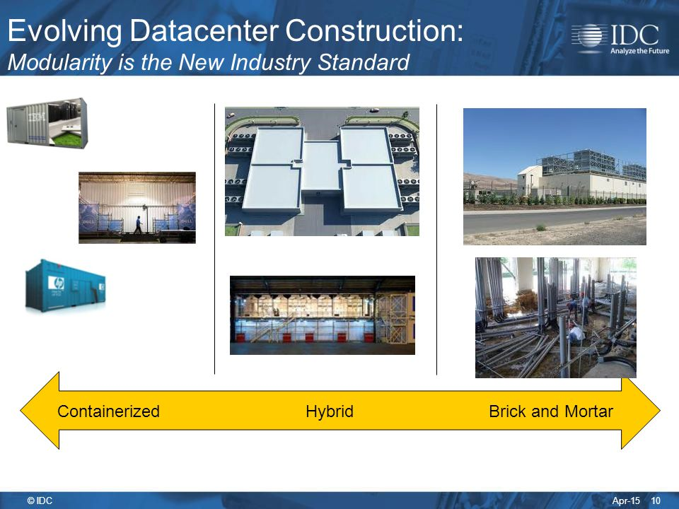 Evolving Datacenter Construction: Modularity is the New Industry Standard