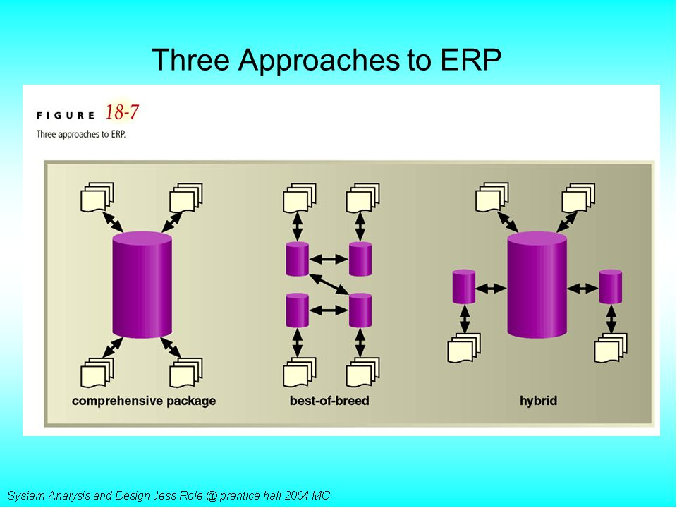 Three Approaches to ERP