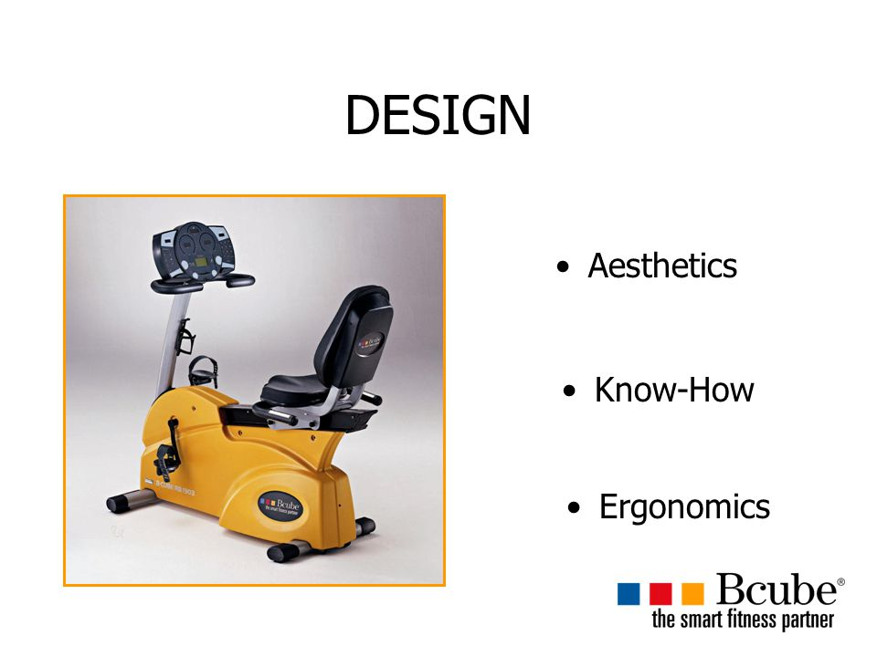 DESIGN Aesthetics Know-How Ergonomics