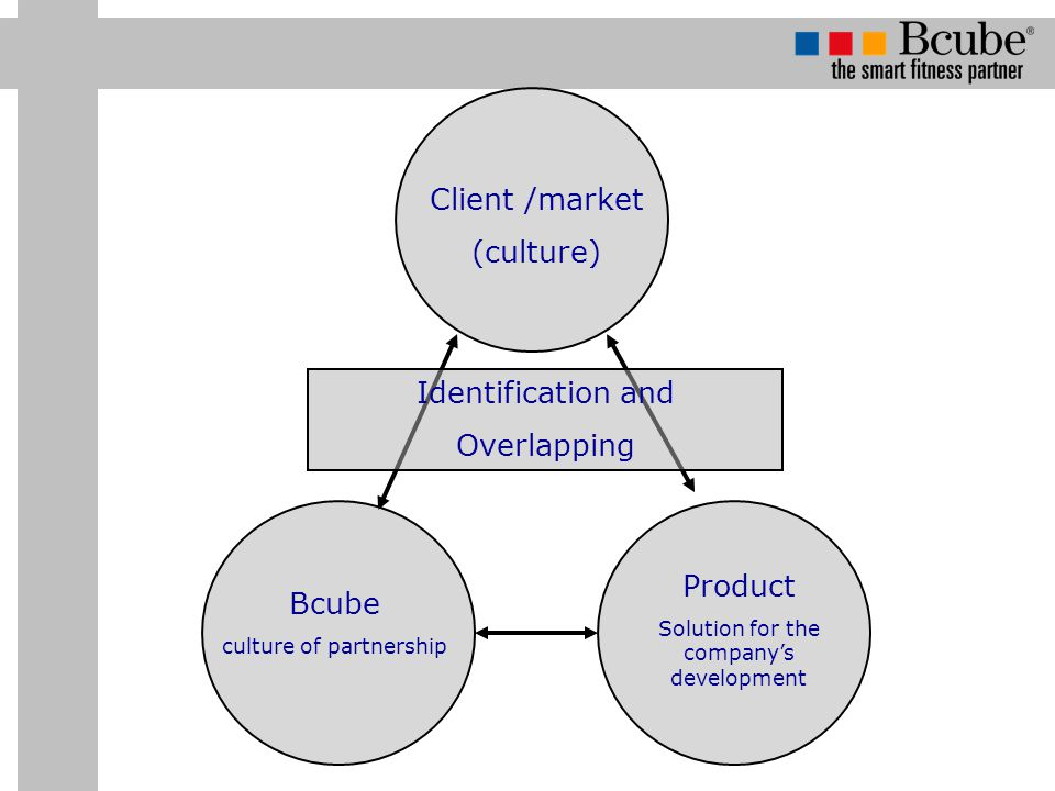 Client /market (culture) Identification and Overlapping Product Bcube