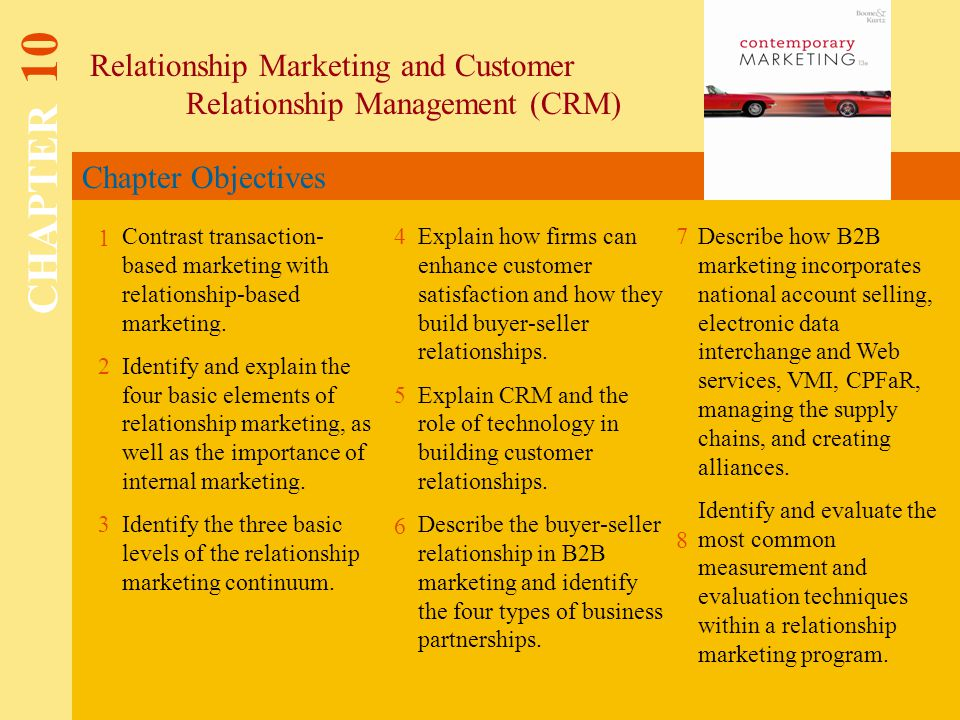 role of customer relationship management in marketing