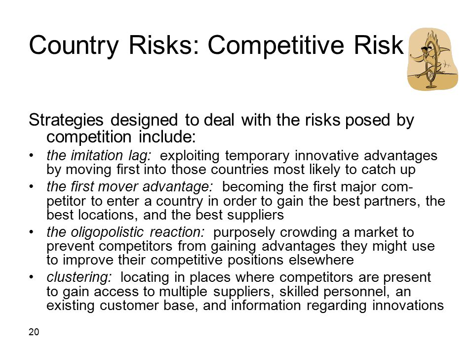Country Risks: Competitive Risk