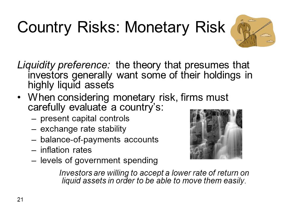 Country Risks: Monetary Risk
