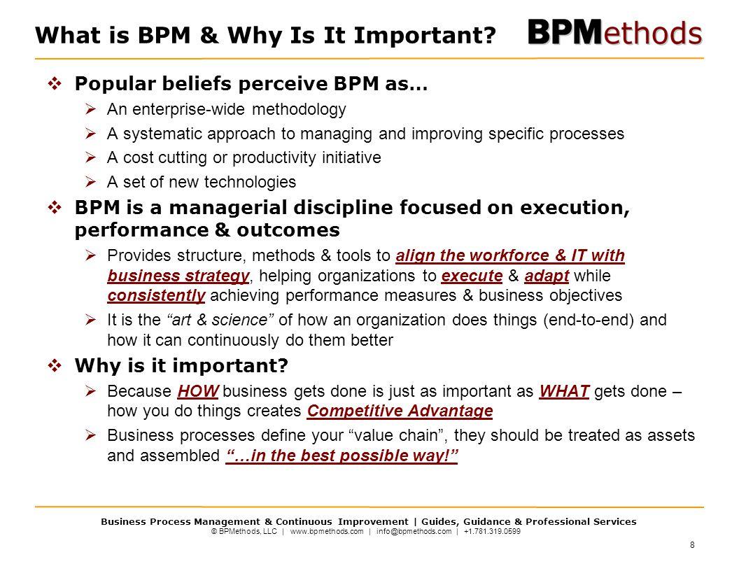 What is BPM & Why Is It Important