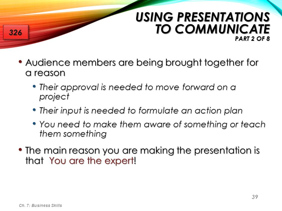 Using Presentations to Communicate Part 2 of 8