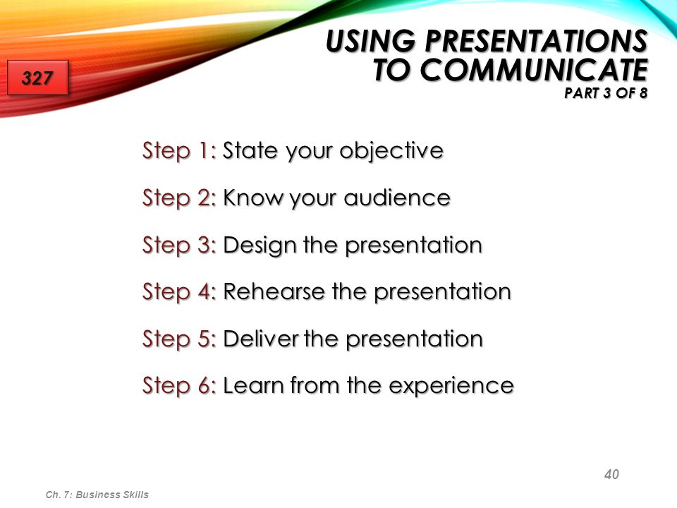 Using Presentations to Communicate Part 3 of 8