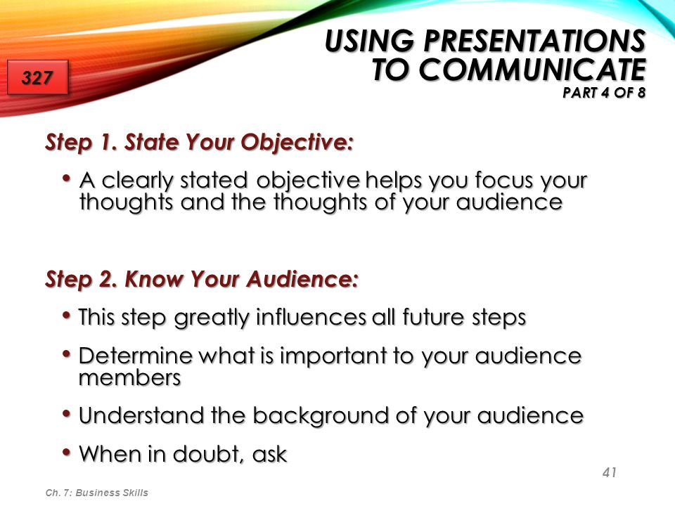 Using Presentations to Communicate Part 4 of 8