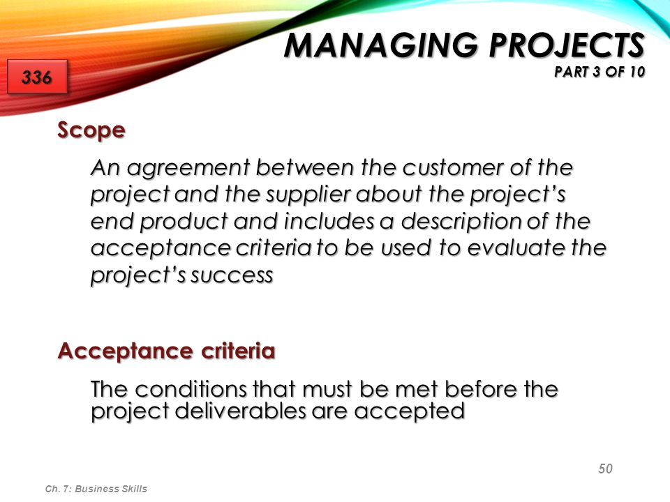 Managing Projects part 3 of 10