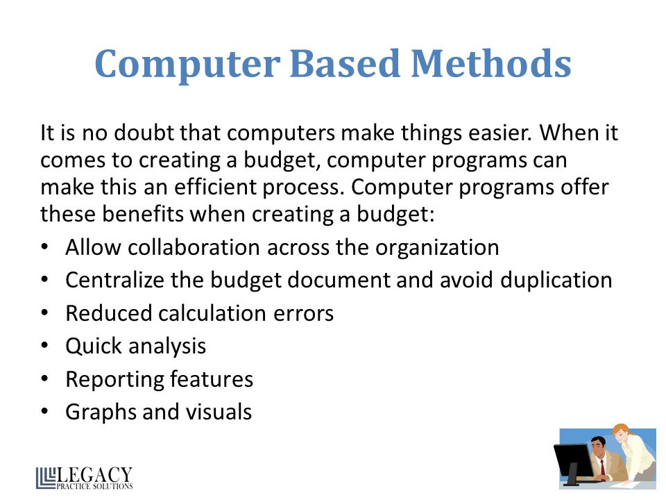 Computer Based Methods