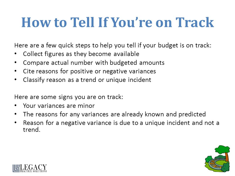 How to Tell If You're on Track