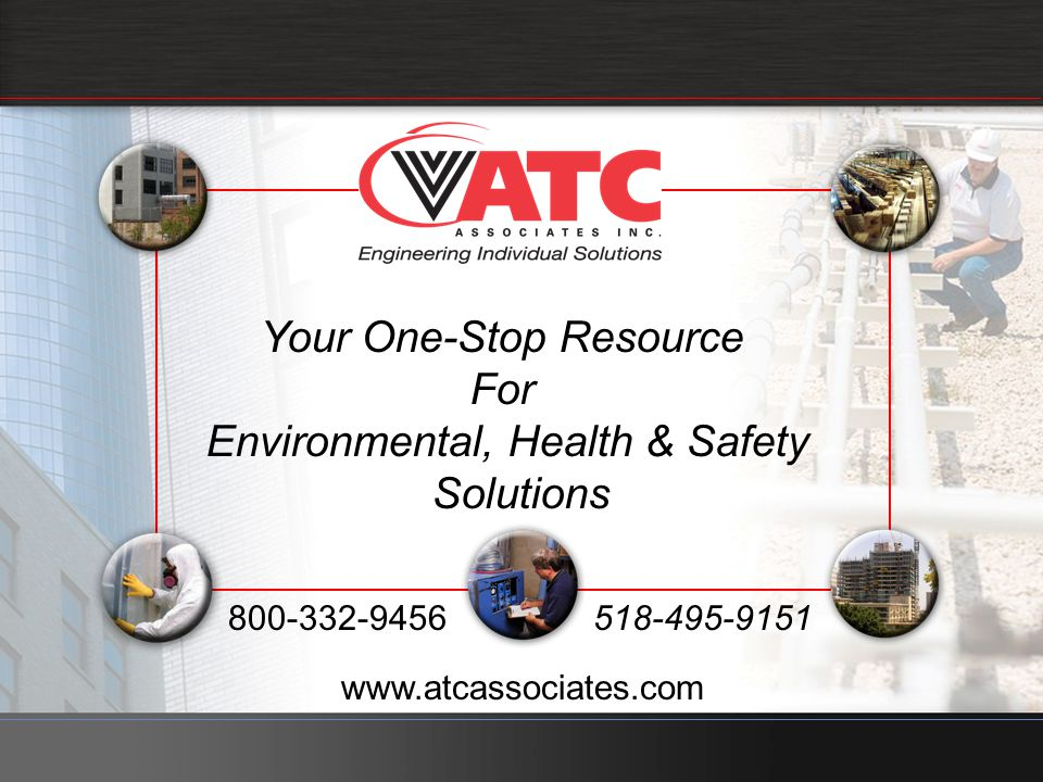 Your One-Stop Resource For Environmental, Health & Safety Solutions