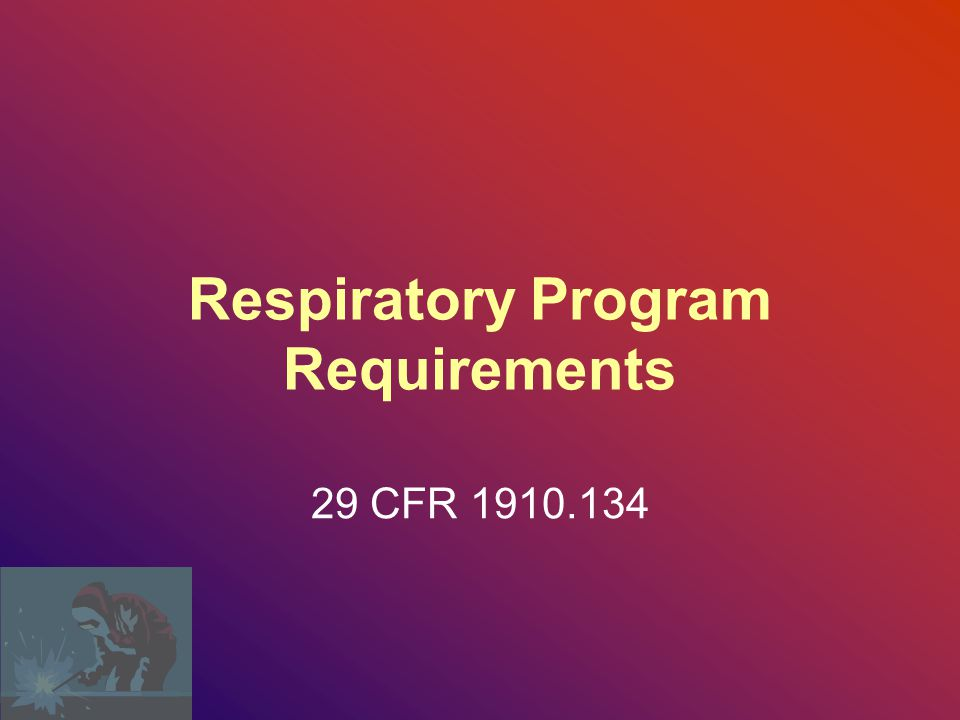 Respiratory Program Requirements