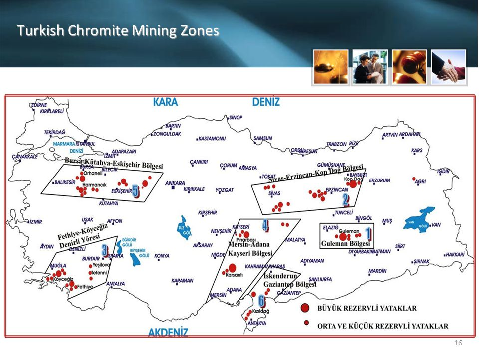 Turkish Chromite Mining Zones