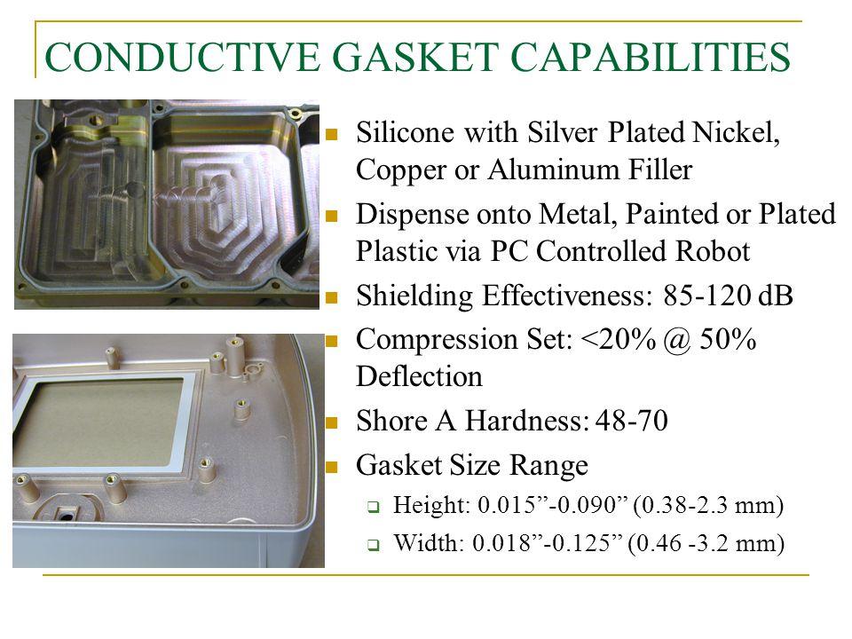 CONDUCTIVE GASKET CAPABILITIES