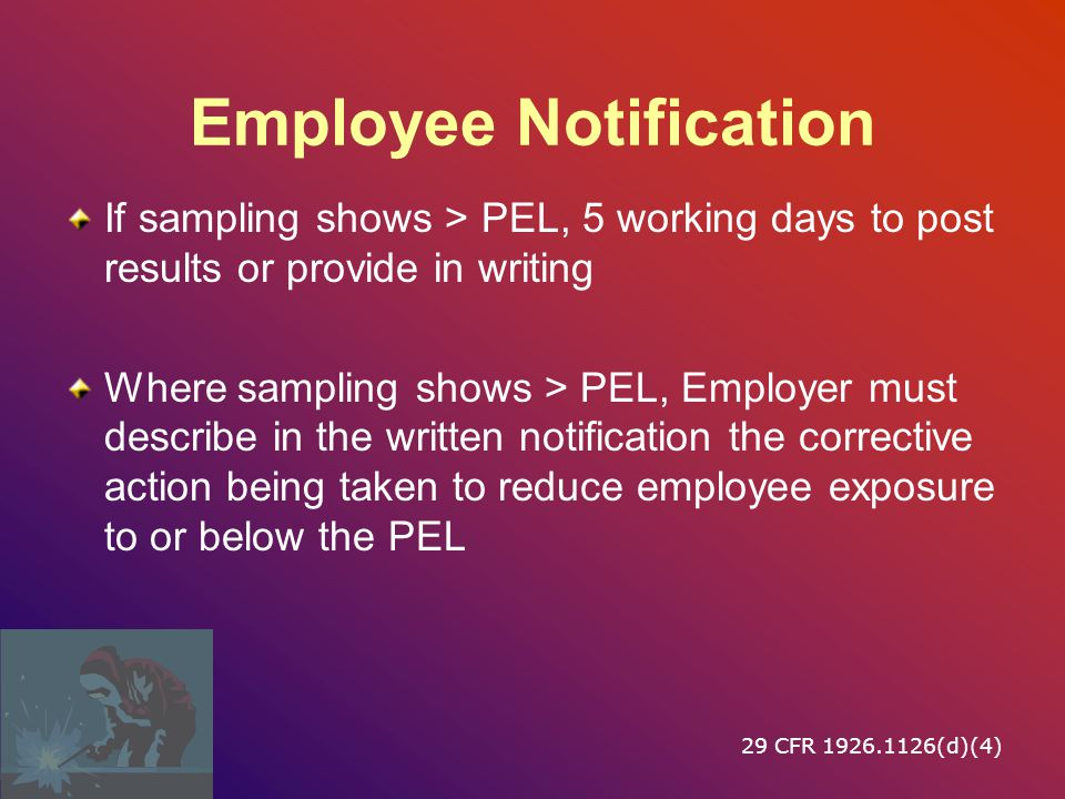Employee Notification