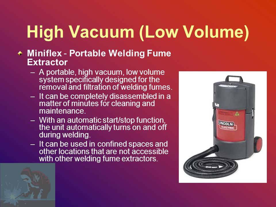 High Vacuum (Low Volume)