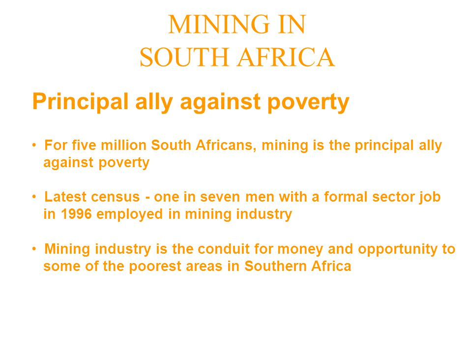 Principal ally against poverty
