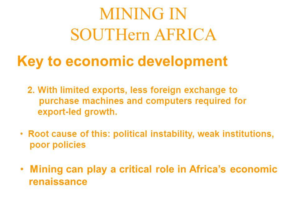Key to economic development