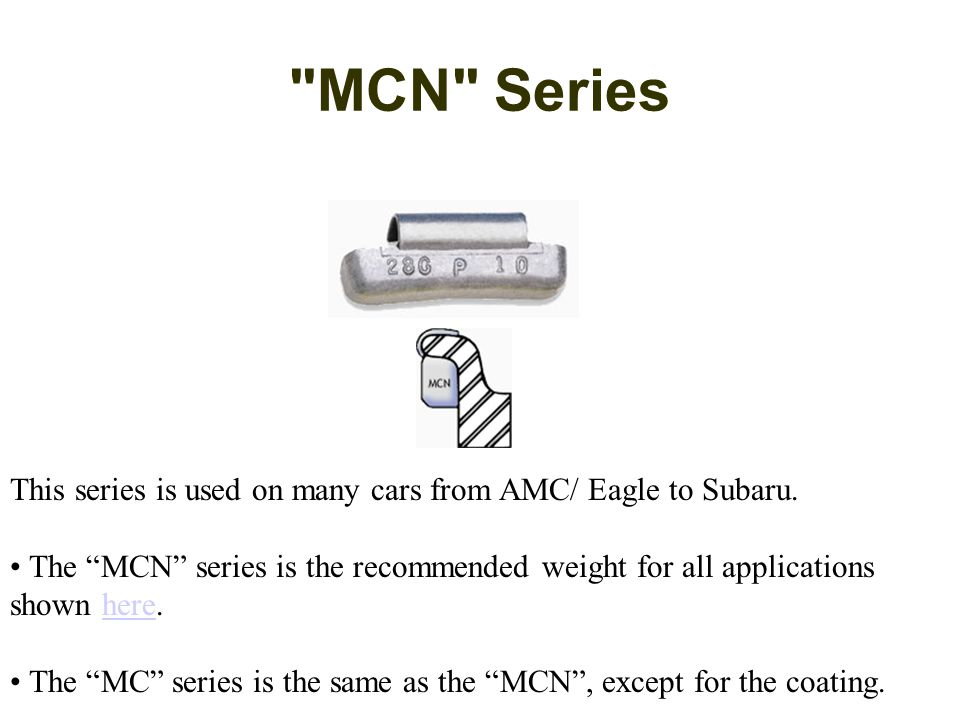 MCN Series