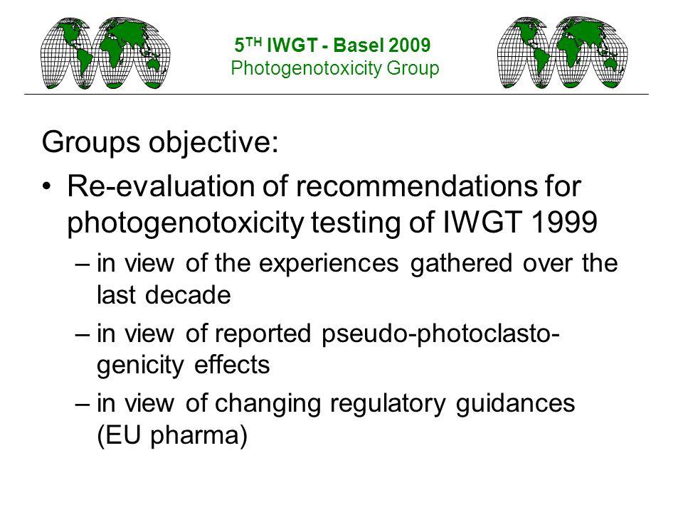 Photogenotoxicity Group