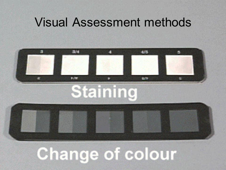 Visual Assessment methods