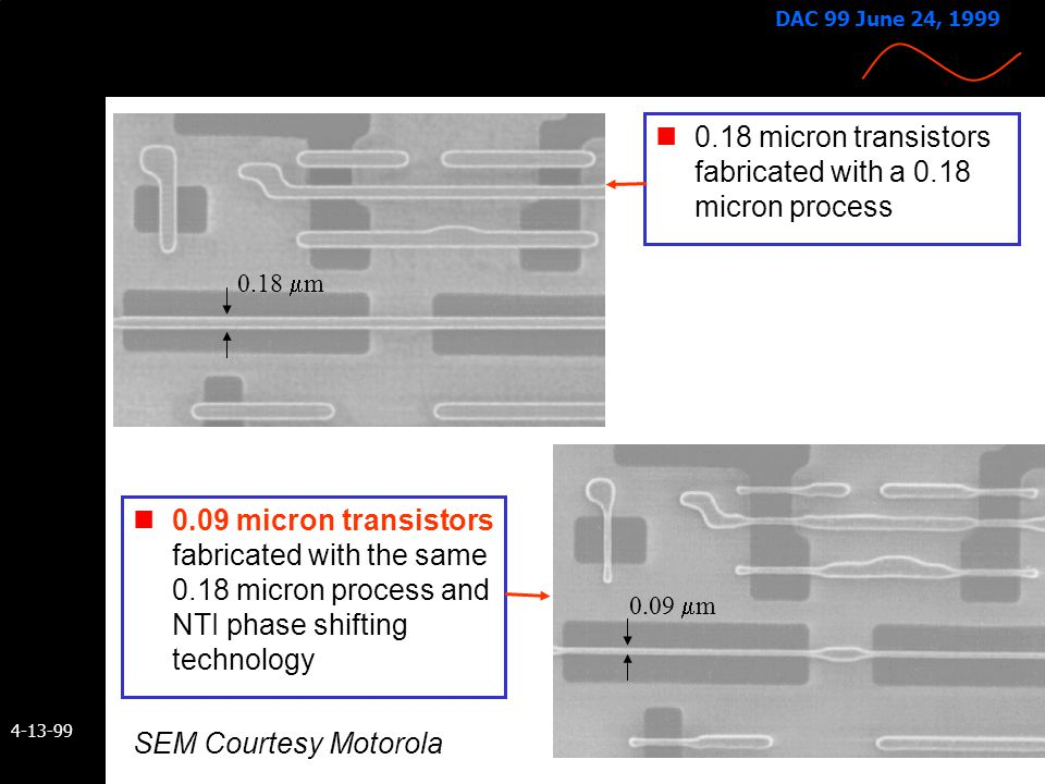 0.18 micron transistors fabricated with a 0.18 micron process