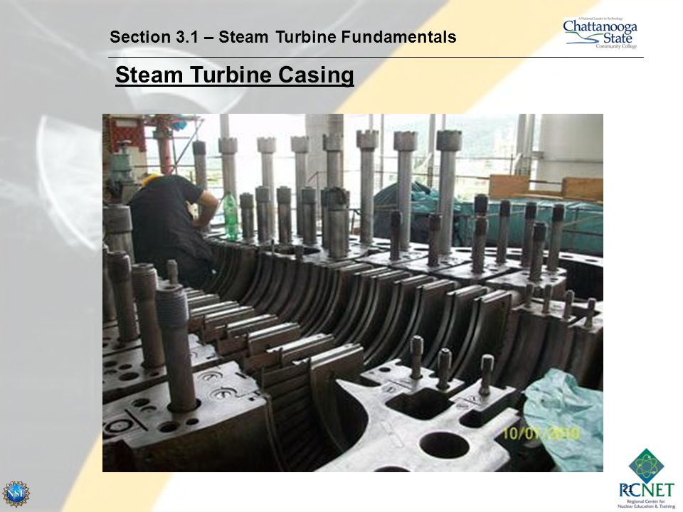 Section 3.1 – Steam Turbine Fundamentals