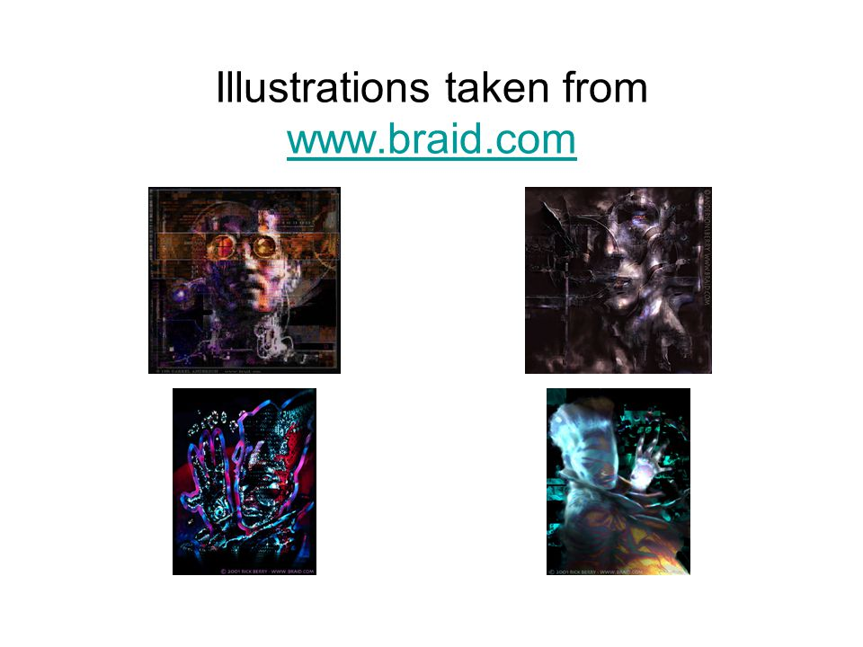 Illustrations taken from www.braid.com