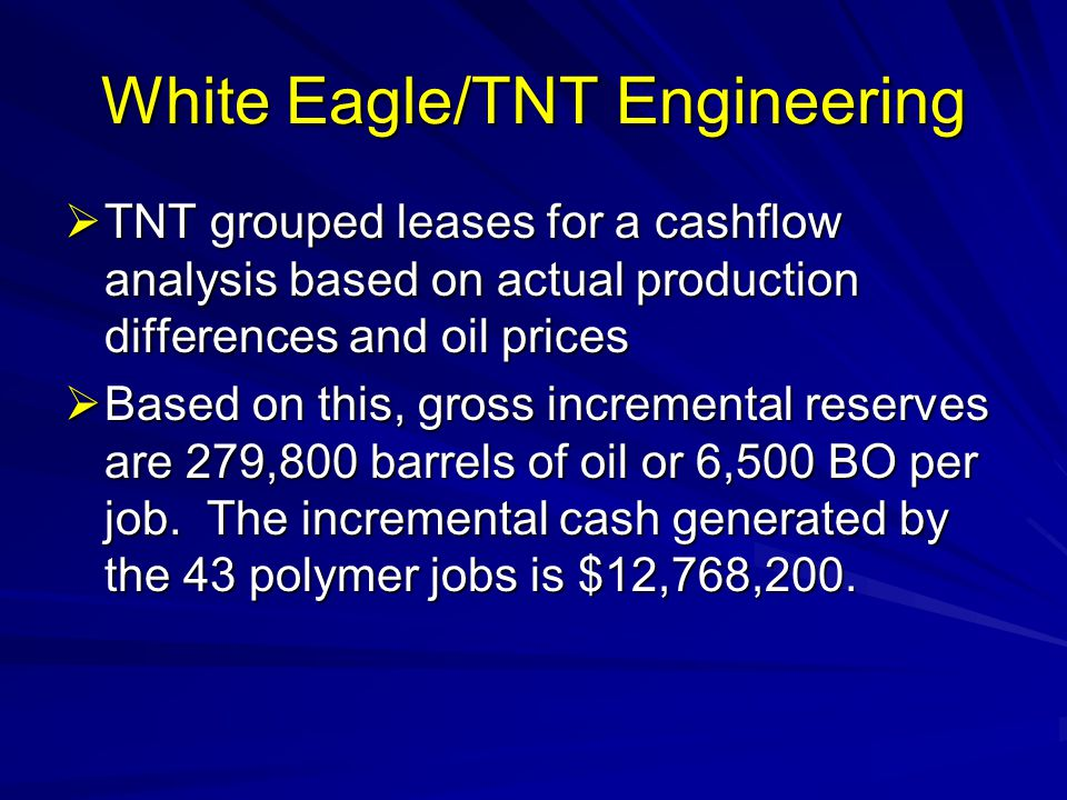 White Eagle/TNT Engineering