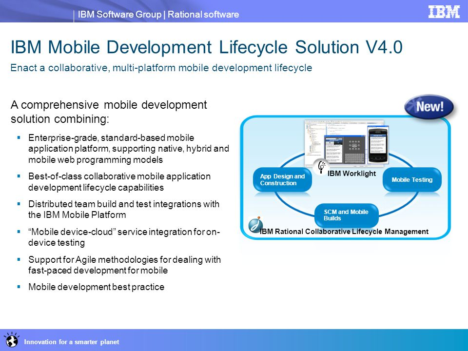 IBM Mobile Development Lifecycle Solution V4.0