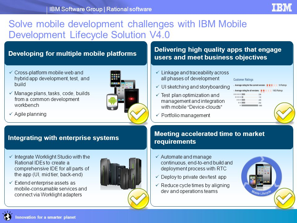 Solve mobile development challenges with IBM Mobile Development Lifecycle Solution V4.0