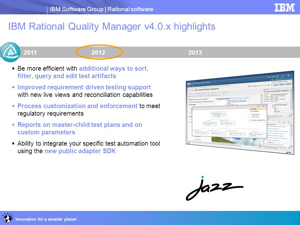 IBM Rational Quality Manager v4.0.x highlights