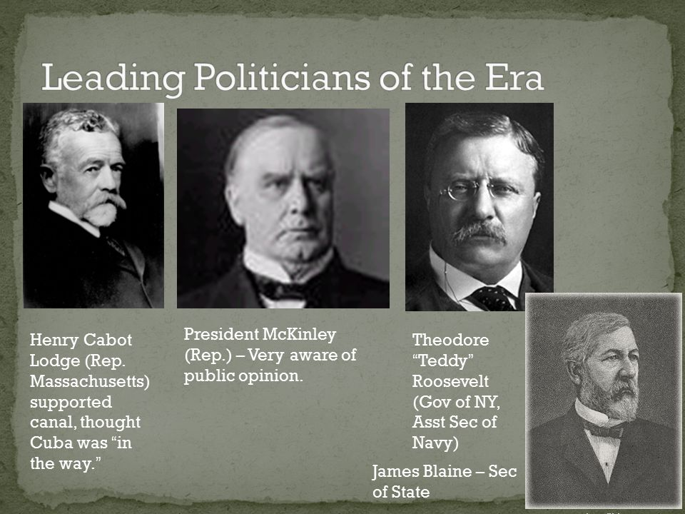 Leading Politicians of the Era