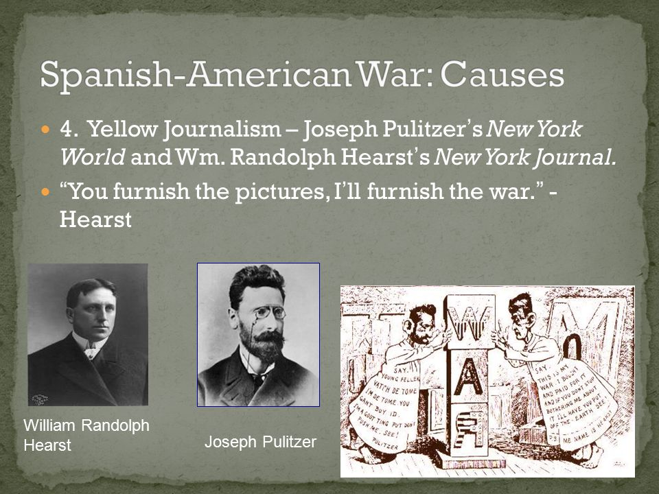 Spanish-American War: Causes