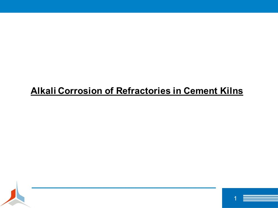 Alkali Corrosion of Refractories in Cement Kilns