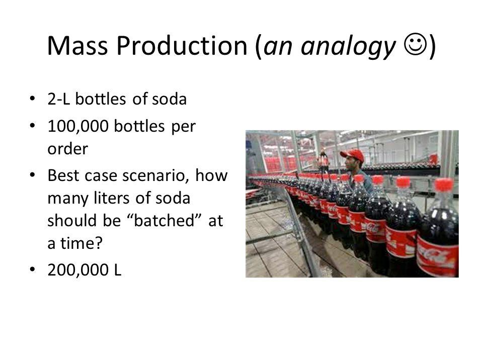 Mass Production (an analogy )