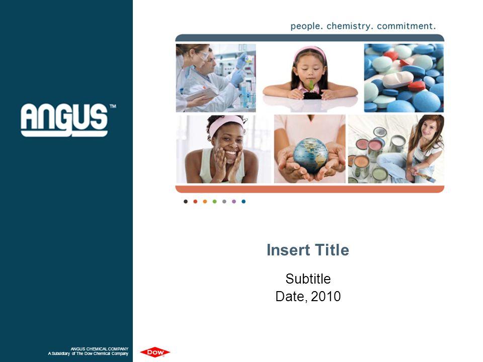 Insert Title Subtitle Date, 2010