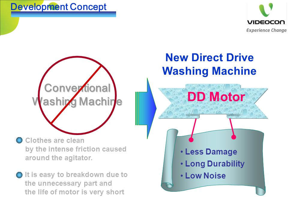 DD Motor New Direct Drive Washing Machine Conventional Washing Machine