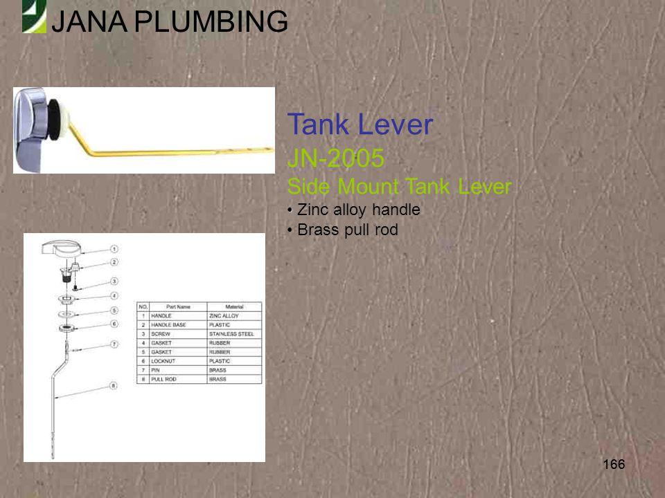 Tank Lever JN-2005 Side Mount Tank Lever Zinc alloy handle