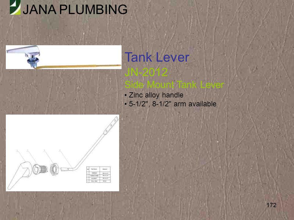 Tank Lever JN-2012 Side Mount Tank Lever Zinc alloy handle