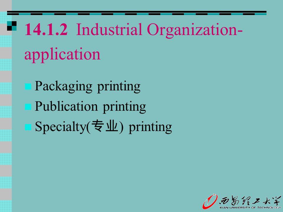 14.1.2 Industrial Organization-application