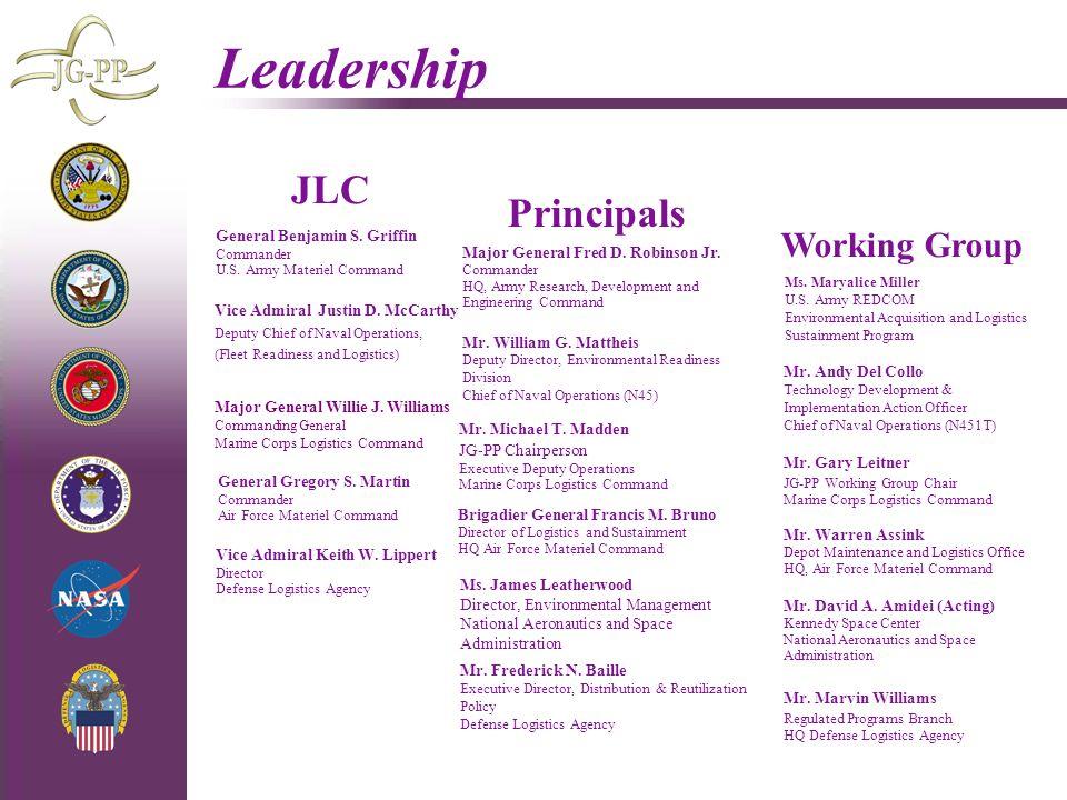 Leadership JLC Principals Working Group