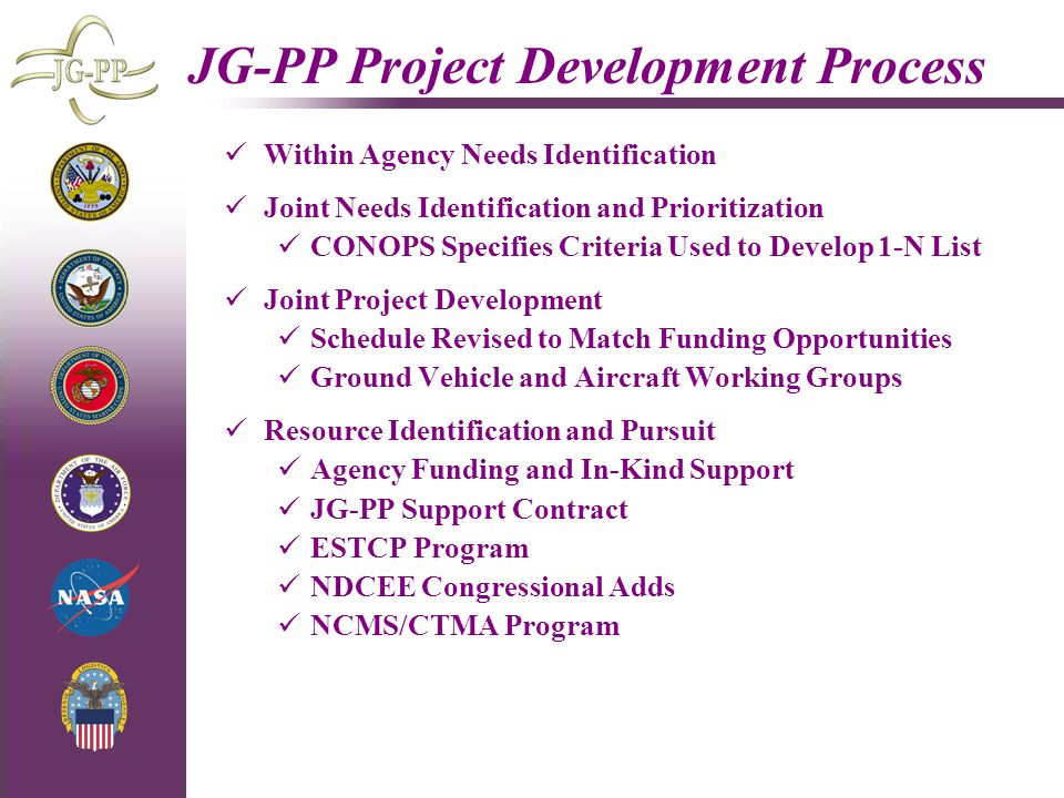 JG-PP Project Development Process