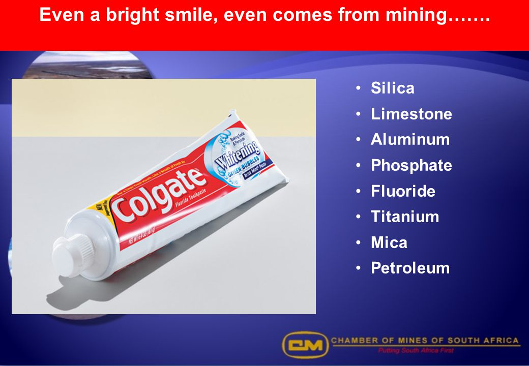 Even a bright smile, even comes from mining…….