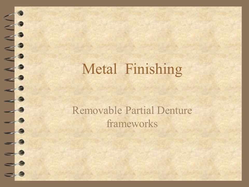 Removable Partial Denture frameworks