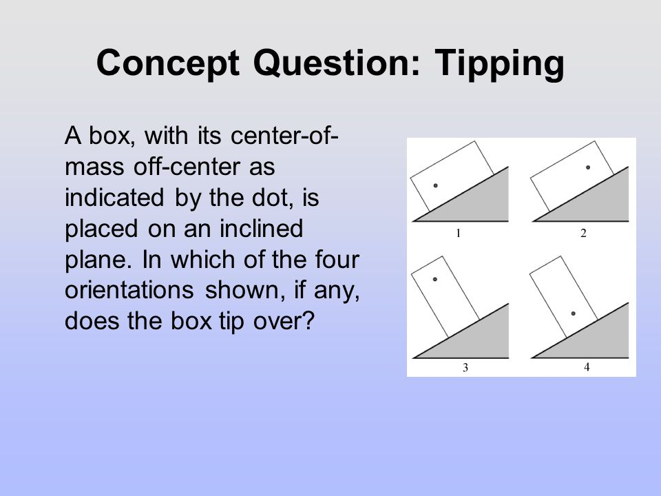Concept Question: Tipping